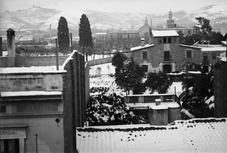 Nevada a Barcelona, 15 i 16 de gener de 1914.
