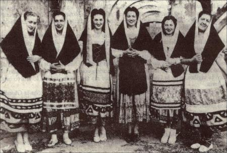 Coro de reclusas de Les Corts.