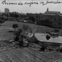 Vista panorámica de la cárcel de Les Corts.