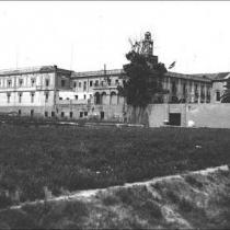 Vista de la presó de les Corts.
