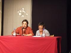Isabel Segura, presentada pel Fernando Hernández, d'ACMe