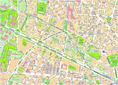 Plano de Barcelona, situación actual. Fuente: Web de l'Ajuntament de Barcelona.