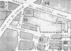 Guia urbana de Barcelona. Editada per Arnaldo Gassó. Barcelona, Grafos, 1952-1953.